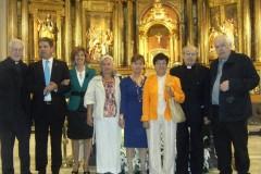 Eucaristia en la celebración de jubilaciones 2010