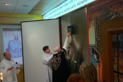 Recepción de cenizas al Columbario